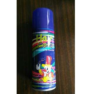Purple Colored Hair Spray