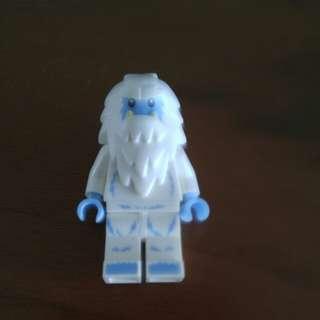 Lego snowman minifigure