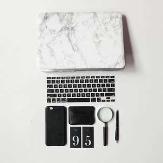 Case marble Macbook pro 13inch with CD room
