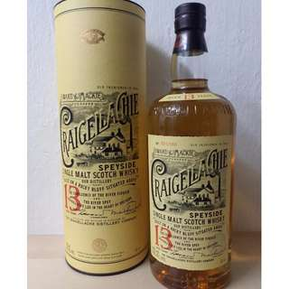 Craigellachie 13 Years Old Single Malt Scotch Whisky 魁列奇13年單一純麥威士忌
