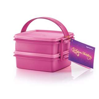 Raya Pink Goody Box with Cariolier