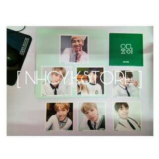 OFFICIAL BTS 3RD MUSTER PHOTO ALBUM WITH 7PCS MINI PHOTO
