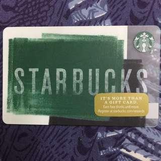 Starbucks US cards