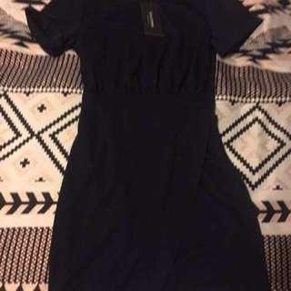 Zalora Wrap Around Dress