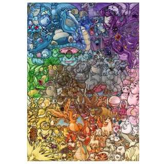 Pokemon poster (original 151)