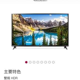 LG 49型 UHD 4K 電視(型號49UJ630)
