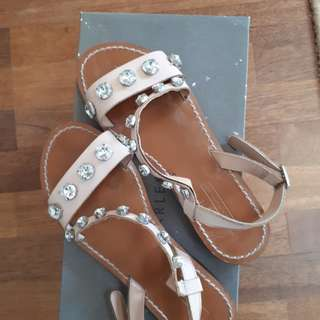 Zara Authentic Studded Sandals