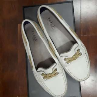 Pedro Authentic White Loafers