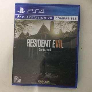 Resident Evil 7:Biohazard