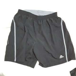 Adidas mena athletic running sport shorts