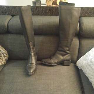 Vince Vero Cuoio Knee High Boots