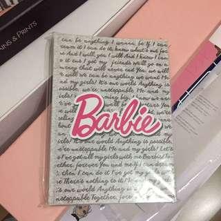 Barbie Notebook Brand New