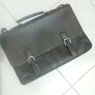 COACH leather bag original (Brown) from US