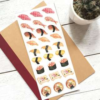 Sushi Sticker Set