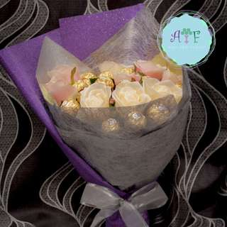 Flower or chocolate bouquet