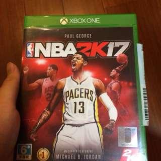 Xbox one nba 2k17(中文版)