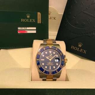 Rolex submariner TT 116613LB