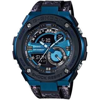 CASIO G-SHOCK GST G-STEEL series GST-200CP 藍色 GSHOCK GST200CP
