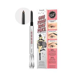benefit goof proof brow pencil mini