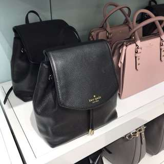 Authentic Kate Spade New York Leather Backpack