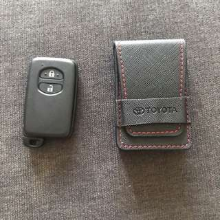 Original Toyota key pouch