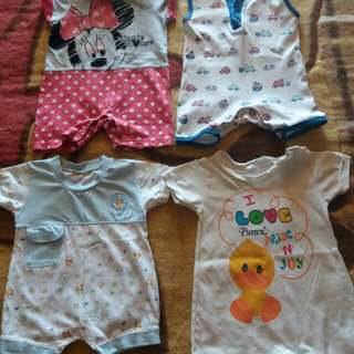 0-6 Baby Romper Set