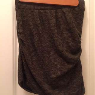 Khaki Zara Skirt