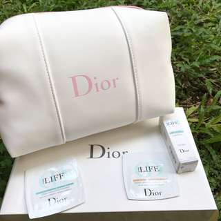 DIOR Pouch With Sample