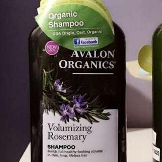 Volumizing Rosemary Shampoo
