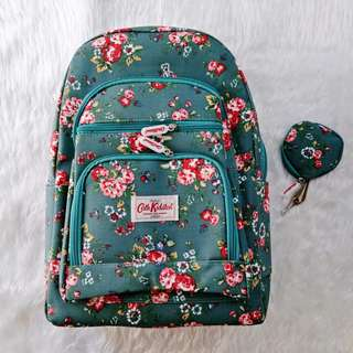 Cath Kidston Large Backpack w/ free coin purse