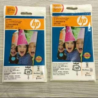 🚚 HP高級相片紙 10X15cm 4X6 免運