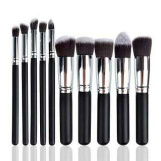 10-piece Make Up Brush Set