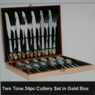 🍴Cutlery Set in Gold Box 🍴