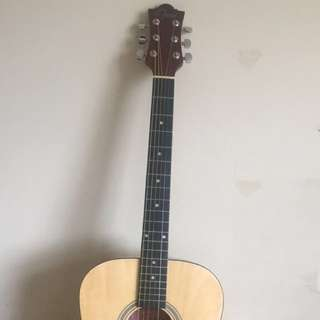 opus wooden acoustic guitar