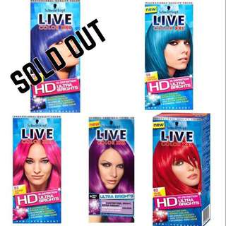 🖤 Schwarzkopf 🖤 Live Color XXL Ultra Brights