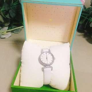 100% new 全新 Kate Spade 白色手錶 white watch