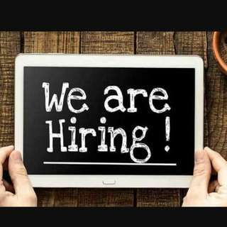We are hiring for retail staffs