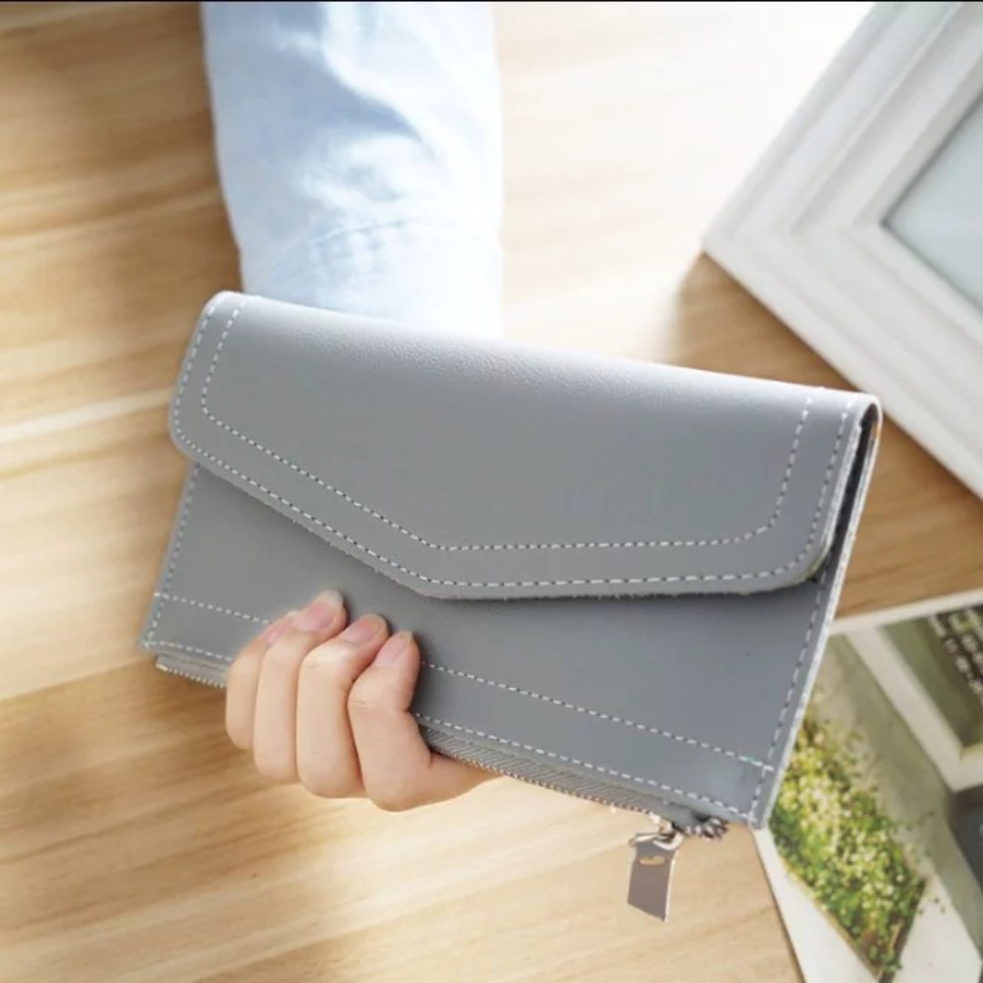 #30 - Thin envelope wallet with zip