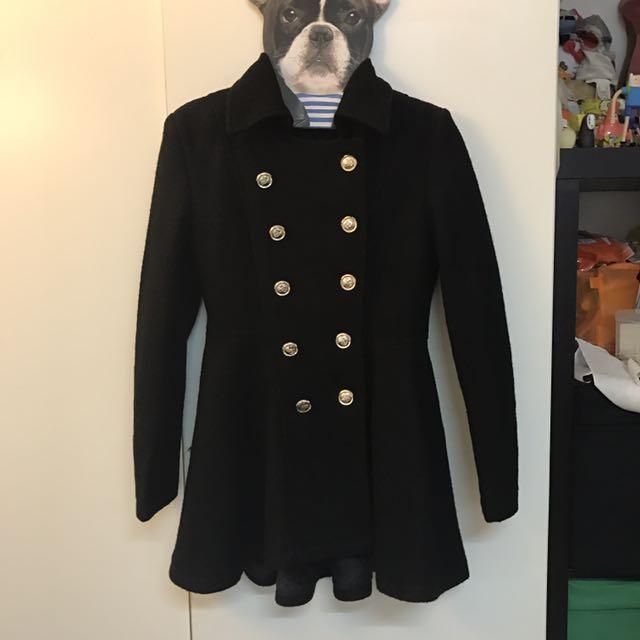 全新-雙排釦外套