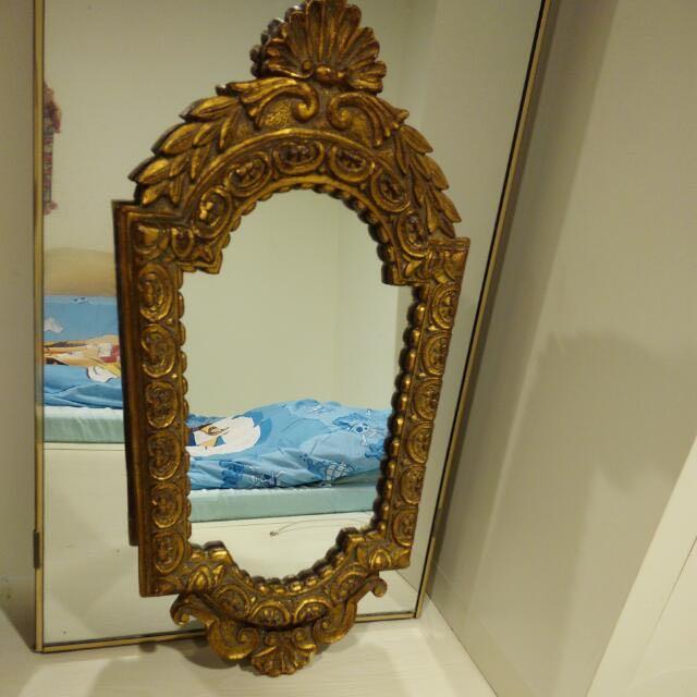 巴洛克式鏡子實木框