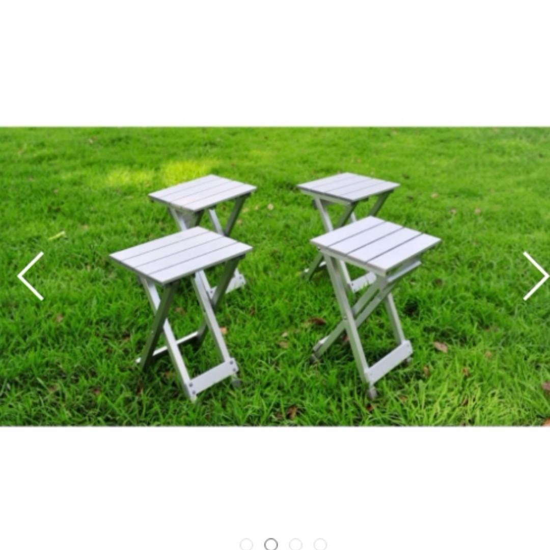 宅配免運費鋁合金折合椅郊外野餐燒烤必需品
