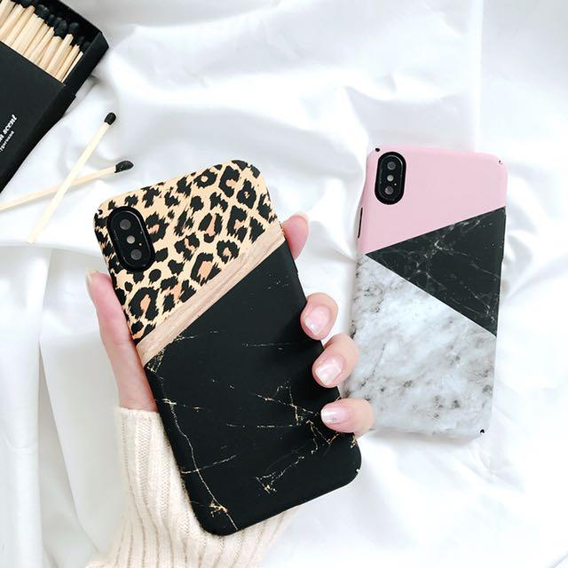 大理石 拼接 📱手機殼📱