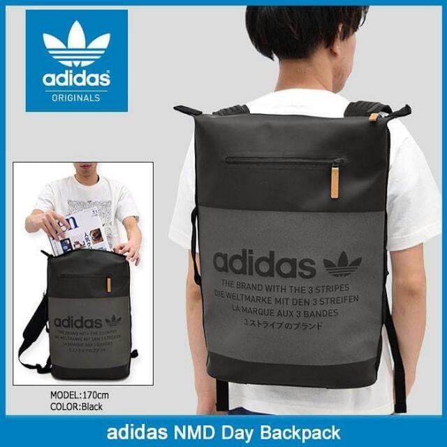 ????ADIDAS NMD DAY PACK BLACK, Men's Fashion, Men's Bags