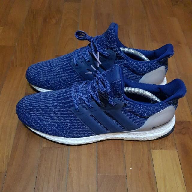 68583099fcaba Adidas Ultra Boost 3.0 Blue UK 8