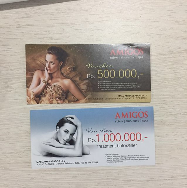 Amigos Salon Skin Care and Spa Voucher
