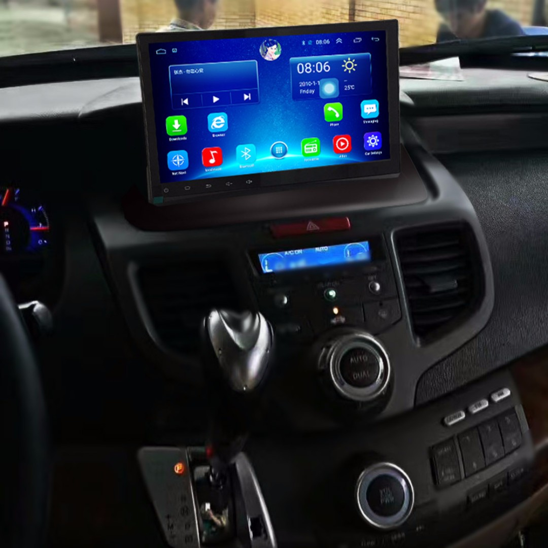 "Android 10.2"" vertical display, car navigation, stereo, multimedia video, radio player for HONDA ODYSSEY 2004-2008."