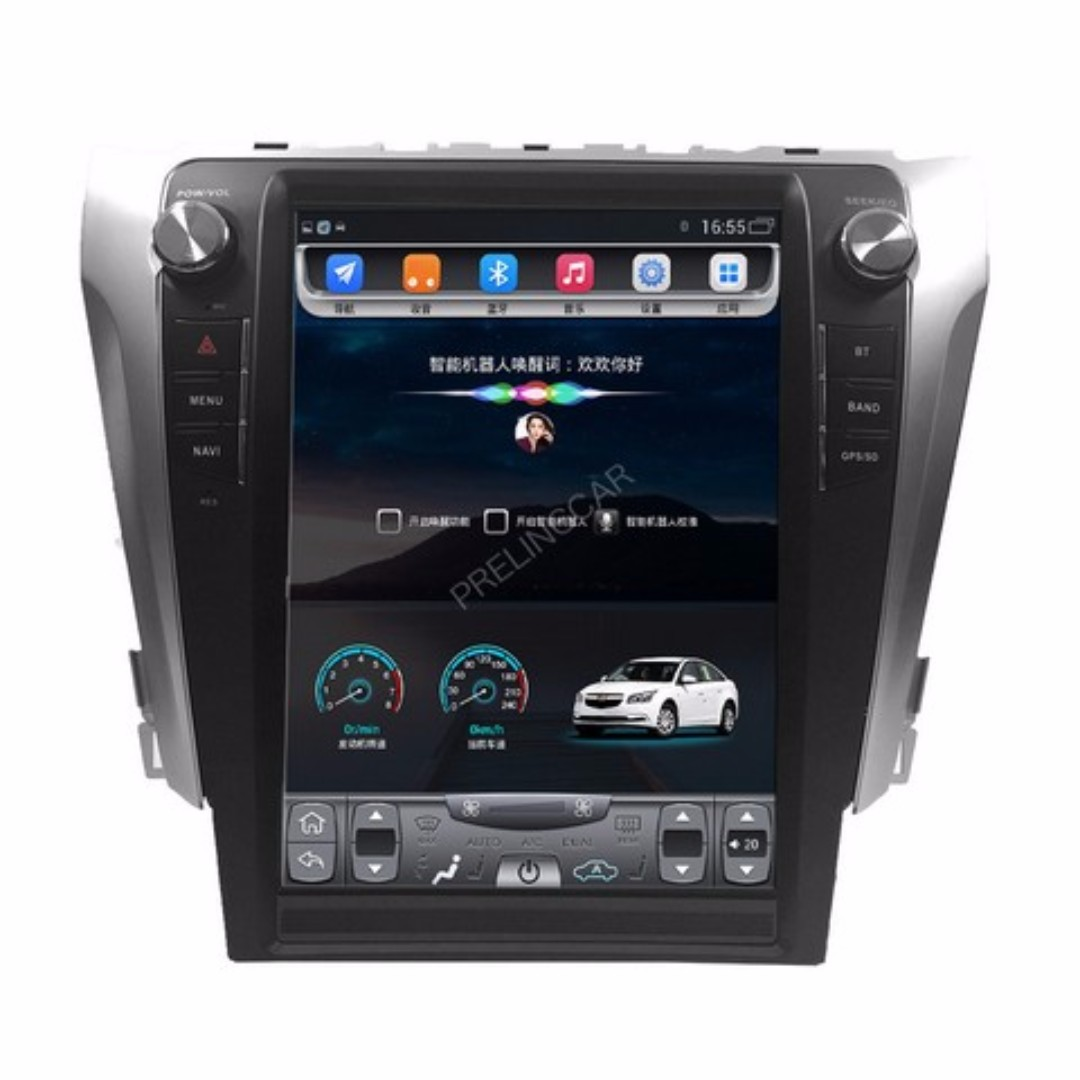 "Android 10.4"" vertical display, car navigation, multimedia video, radio player for TOYOTA CAMRY 2012-2017."