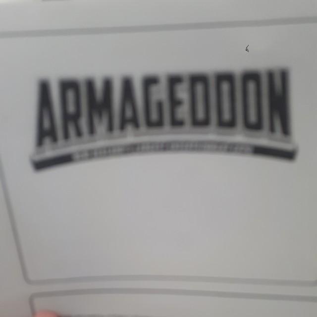 Arrmogedon tickets for sale