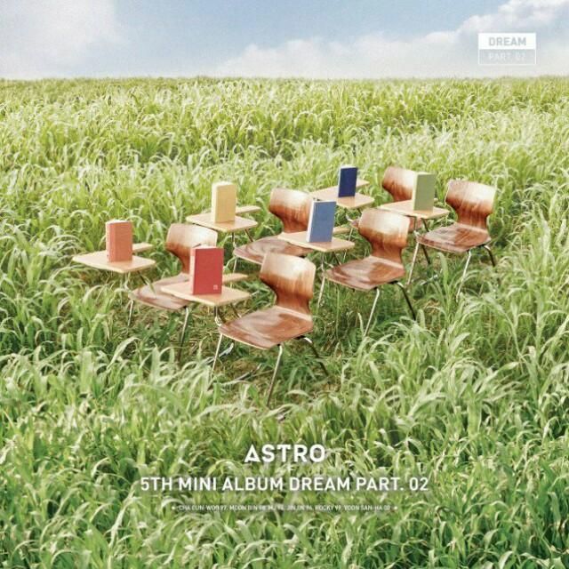 ASTRO 5TH MINI ALBUM - DREAM PART 2 2 Versions (Wish / Wind)