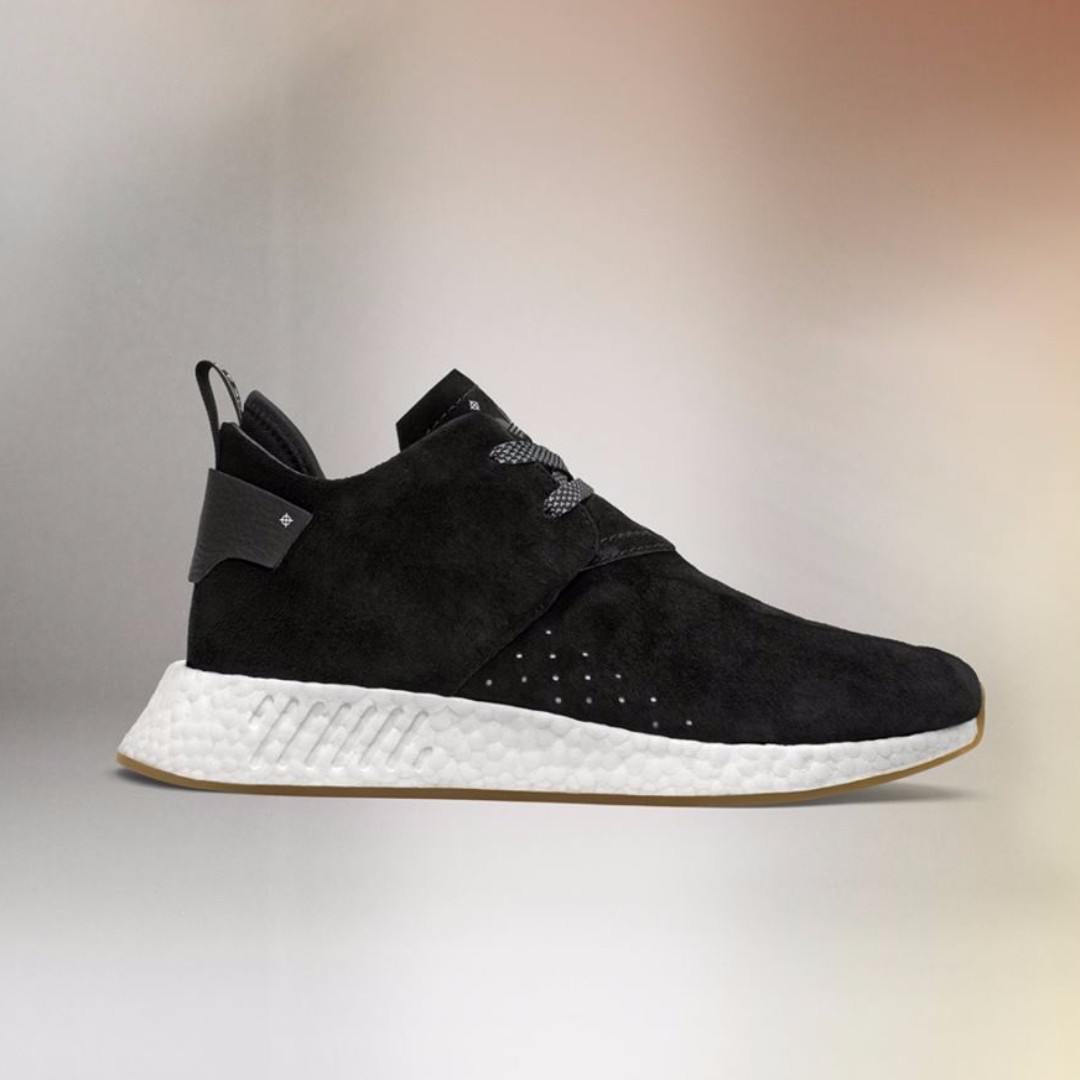 Authentic Adidas Originals NMD C2 Core Black, Men's Fashion, Footwear, Sneakers on Carousell